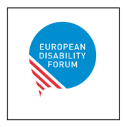 "Link to ""European Disability Forum"" website"