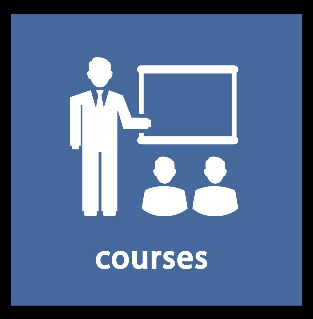 courses button