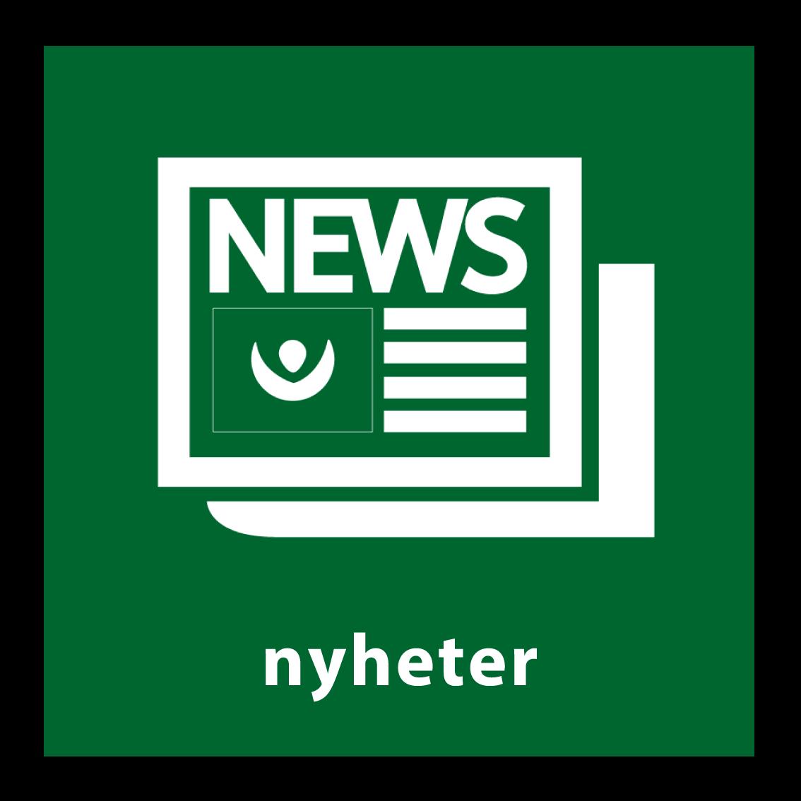 nyheter knapp